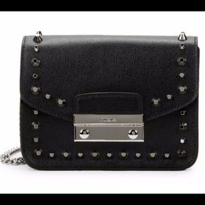 NWT FURLA Julia Mini Stud Crossbody Shoulder Bags